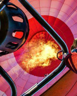 oro balionas is vidaus