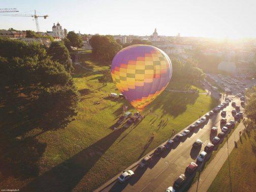 oro balionas vilniuje
